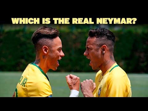 Thumbnail: Neymar Jr. comes face to face with Madame Tussauds Figure