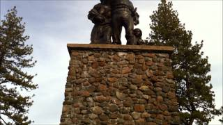 The Donner Party Memorial In Truckee California