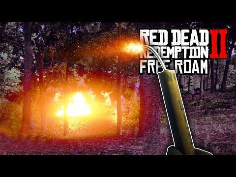 Red Dead Redemption 2 - Blowing Up The KKK (Free Roam Gameplay)