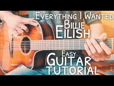Everything I Wanted Billie Eilish Guitar Tutorial // Everything I Wanted Guitar // Lesson #751