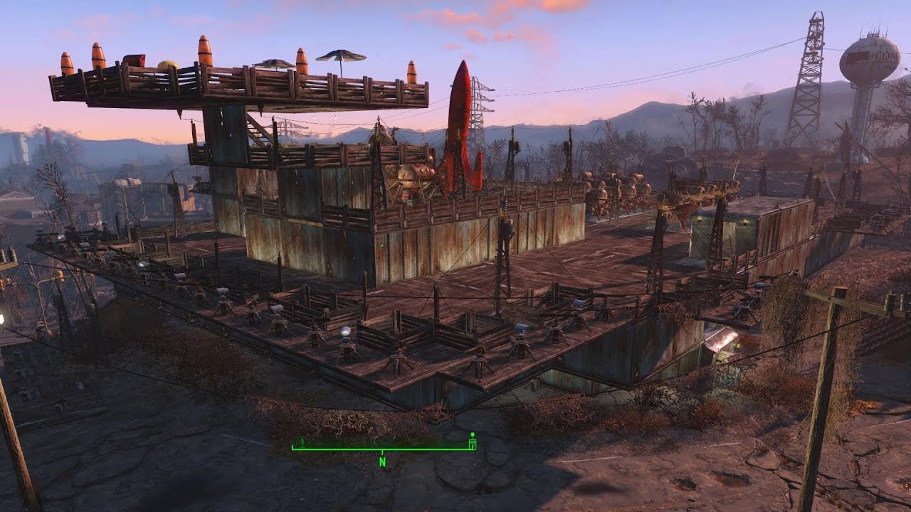 Fallout 4 The Console Command And Building Settlements
