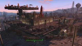 Fallout 4 - The Console Command and Building Settlements