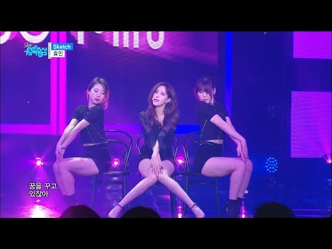 【TVPP】 Hyomin(T-ARA) - Sketch, 효민(티아라) - 스케치 @Show! Music core