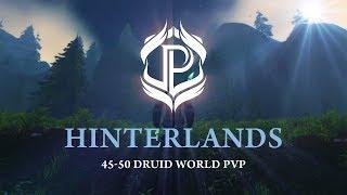 Pulciu - Tauren Druid - World PvP Levels 45 - 50 in Hinterlands