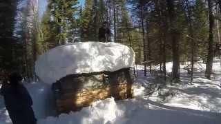 Много снега у нас было в этом году
