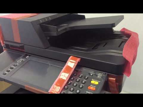 Multifuncional Kyocera M3550idn - YouTube