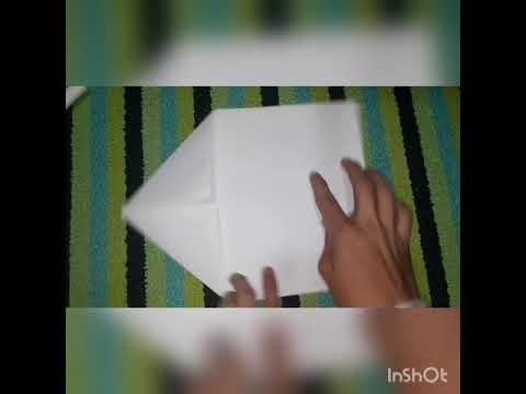 Como hacer una pistola de papel 🔫🔫