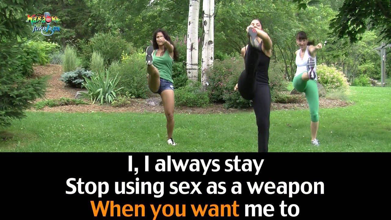 Lyrics to sex as a weapon by pat benatar