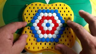 NEW NEW NEW 2018 mosaic for children white red blue green COLOR Children's mosaic
