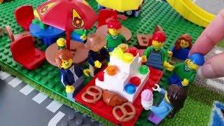 LASTENOHJELMIA SUOMEKSI - Lego city - Vilhon synttärit -  osa 3