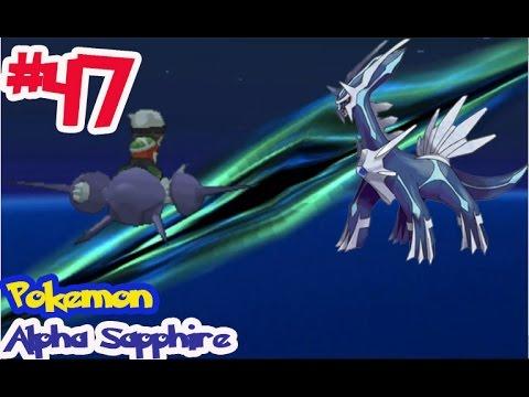 """Pokémon Alpha Sapphire - Ep47 จับ เดียร์ก้า """"Dialga"""" โปเกม่อนในตำนาน ผู้ควบคุมกาลเวลา"""