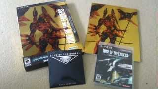 Zone of the Enders HD Collection - Limited Edition Unboxing (360/PS3)