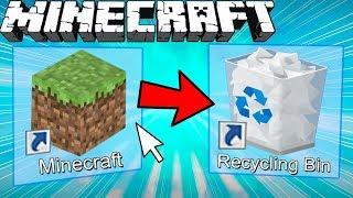 If Minecraft was Shut Down