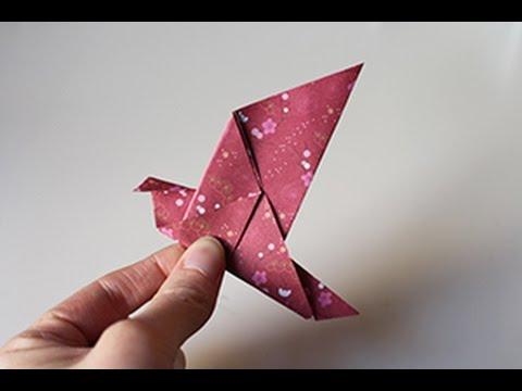 Tuto Oiseau Origami Youtube