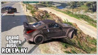 GTA 5 Roleplay - Lost Control Drifting 'HUGE' Car Crash | RedlineRP #361