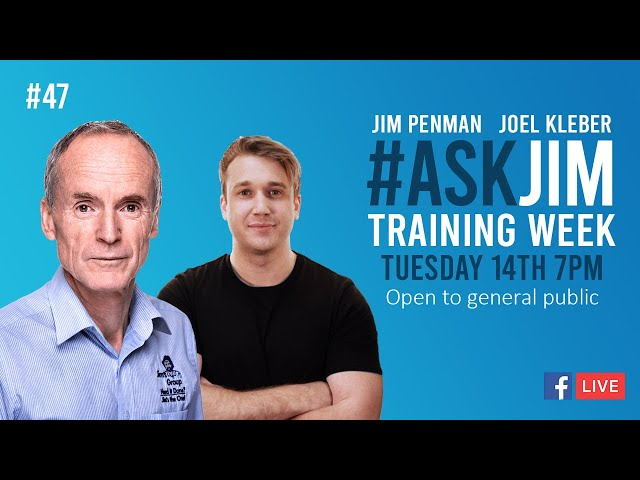 #ASKJIM 47 with Jim Penman, CEO of Jim's Group and Joel Kleber - www.jims.net - 131 546
