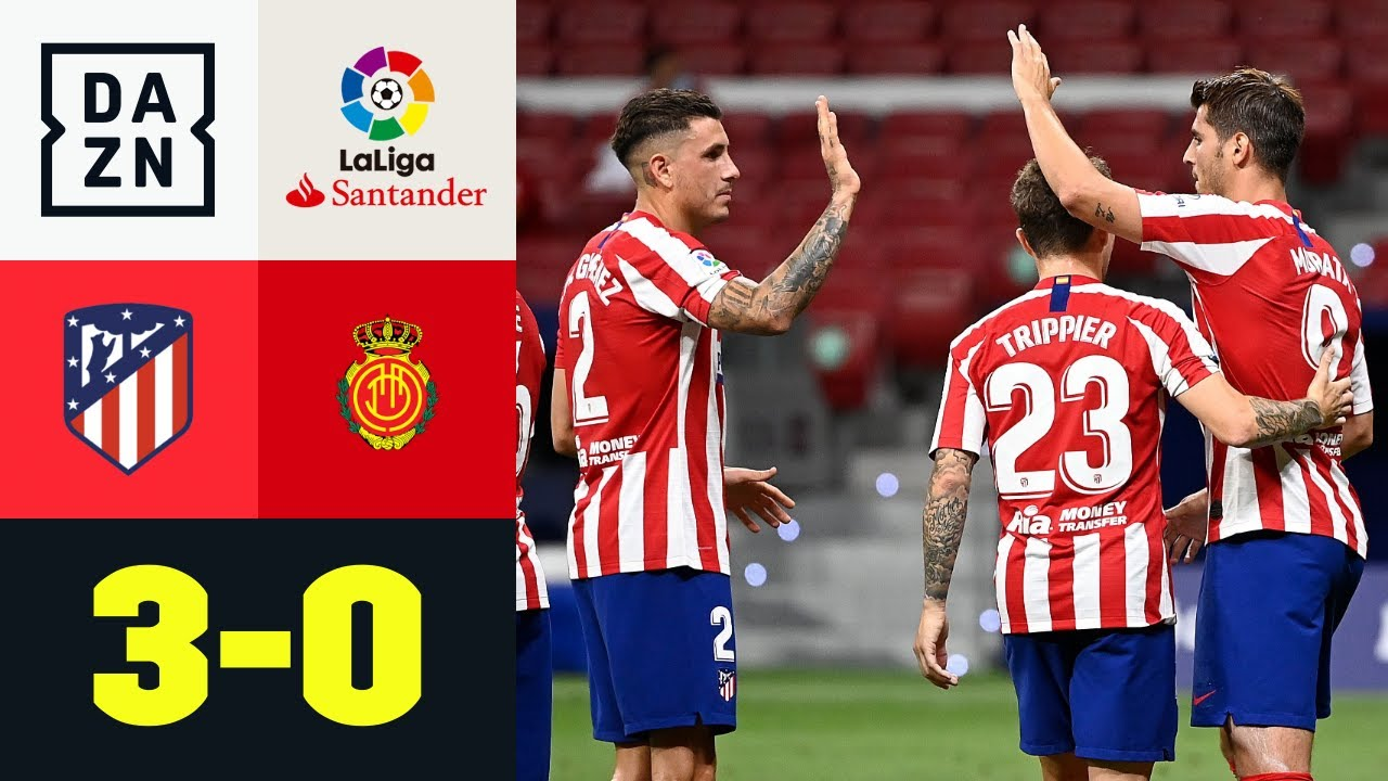 Morata protagonista: Atletico Madrid - Maiorca 3-0 | LaLiga | DAZN Highlights