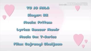 Singer: kk music: pritam lyrics: kausar munir music on: t-series film: bajrangi bhaijaan