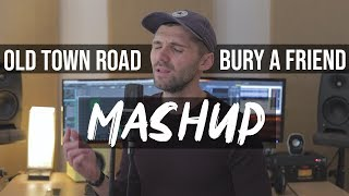 Old Town Road/ Bury a Friend Mashup By Ben Woodward