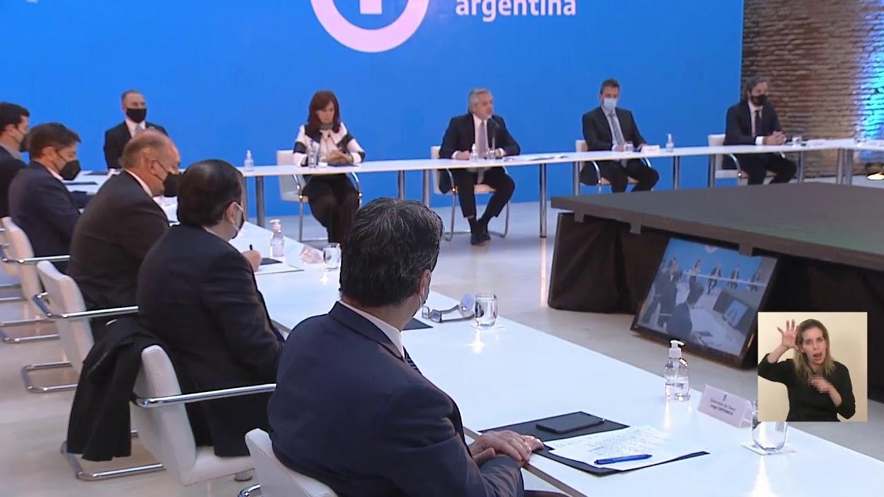 El presidente Alberto Fernández presentó los resultados de la reestructuración de la deuda