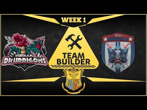 Durham Druddigons Team Builder APA Season 5 Week 1 vs Boston Beedrills