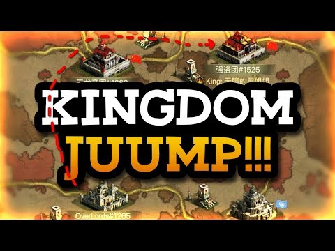 KINGDOM JUMPING - IT'S HERE - BIGGEST ANNOUNCEMENT EVER - CLASH OF KINGS