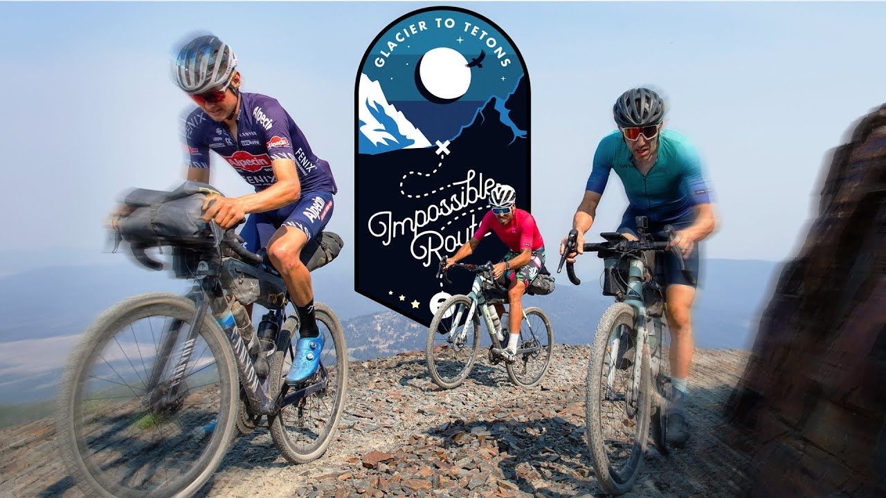 Cycling across Montana is HARD! Impossible Route ep.3 - Glacier to Tetons (A Cycling Documentary)