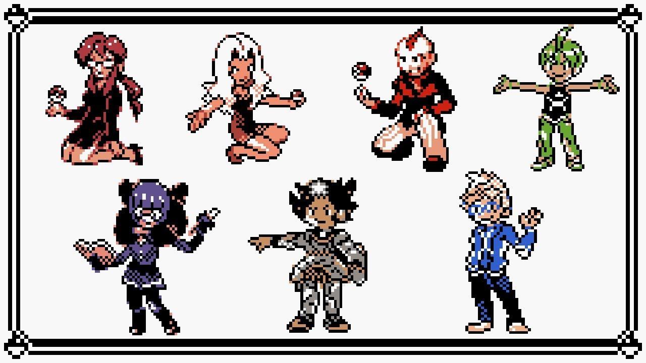 Pokémon Elite Four Battle Medley 8 Bit Youtube