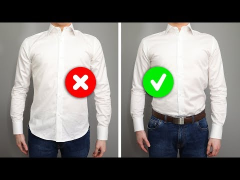 071ad6df126 Untucked Vs. Tucked In — A Guide To Dress Shirt Length — UNFUSED   Deo  Veritas' Online Journal   STYLE FOOD TRAVEL LIFE