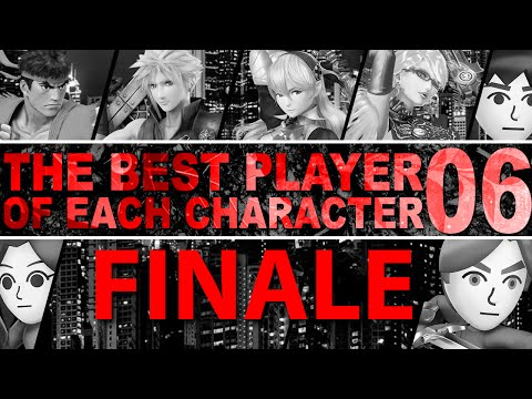 The Best Player Of Each Character In Smash 4 - Part 6 (FINALE) - ZeRo