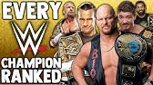 Every WWE Champion Ranked From WORST To BEST