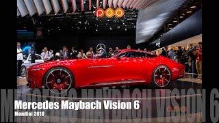 Vision Mercedes-Maybach 6 Concept - Mondial de l'Automobile 2016 16/20