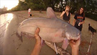 Good Catfish Fishing On Mississippi River