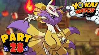 Yo-Kai Watch - Part 28 - Kyubi Boss Battle