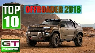 2018 Top 10 best off-road vehicles