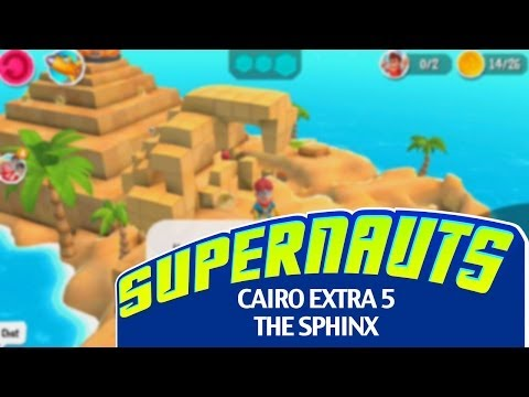 """Supernauts Mission Guide: Cairo - Extra 5 (""""The Sphinx"""")"""