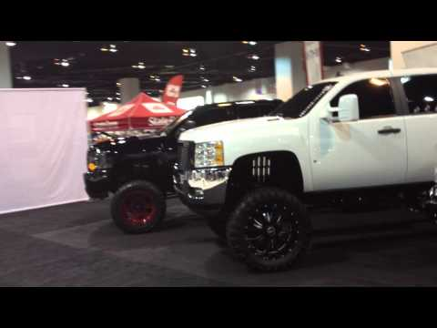Extreme Ford Chevy Trucks and Shocks