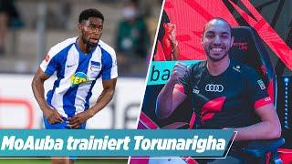 Hertha-Star Torunarigha zockt mit FIFA-Weltmeister MoAuba