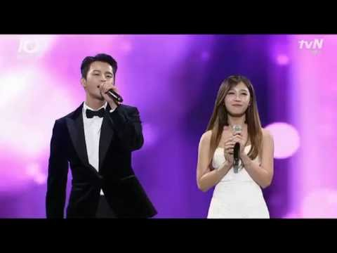 [HQ] tvN10 Awards: All for you - Jung Eunji (정은지) & Seo In Guk (서인국) [Reply 1997 (응답하라 1997) OST]