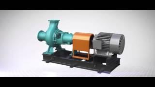 Высокоэнергосберегающий незасоряемый центробежный насос новой модели KEWP.(сайт http://vulkan-pump.ru., 2016-03-23T02:26:13.000Z)