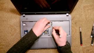 Как разобрать Ноутбук Samsung R528 (Ноутбук Samsung R528 disassembly. How to replace HDD, RAM)