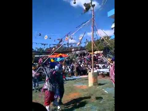 Baile folklórico san sebastián  huehuetenango