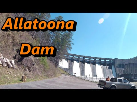 Allatoona Dam Backside Fish And Finding Army Corps Office Ga