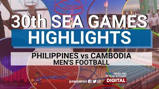 SEA Games 2019: Philippines vs Cambodia (Men's Football) Highlights