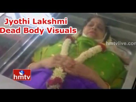 Jyothi Lakshmi Dead Body Visuals | Veteran Actress Passes Away At 63 In Chennai | HMTV