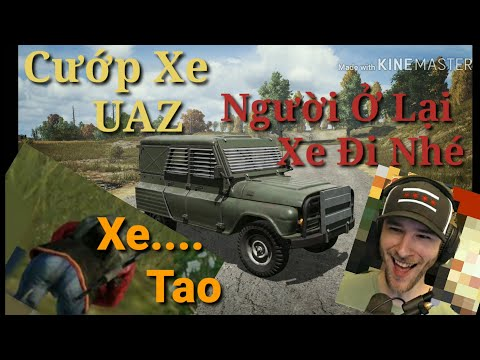 Đẳng Cấp Cướp Xe UAZ-ChoCoTaCo Người Ở Lại Xe Đi nhé-Mất top1 Đầy Cay Cú-PUBG Play - LayLa TV