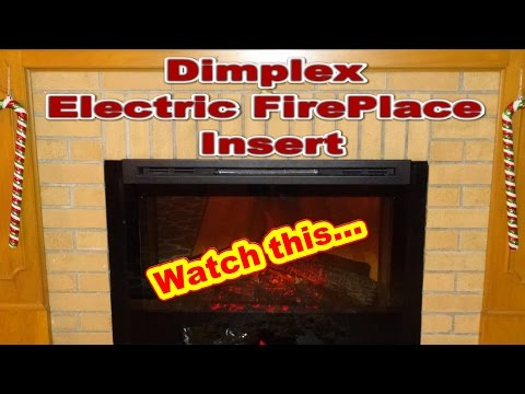 Dimplex Electric Fireplace Insert , Model DF3033 ST