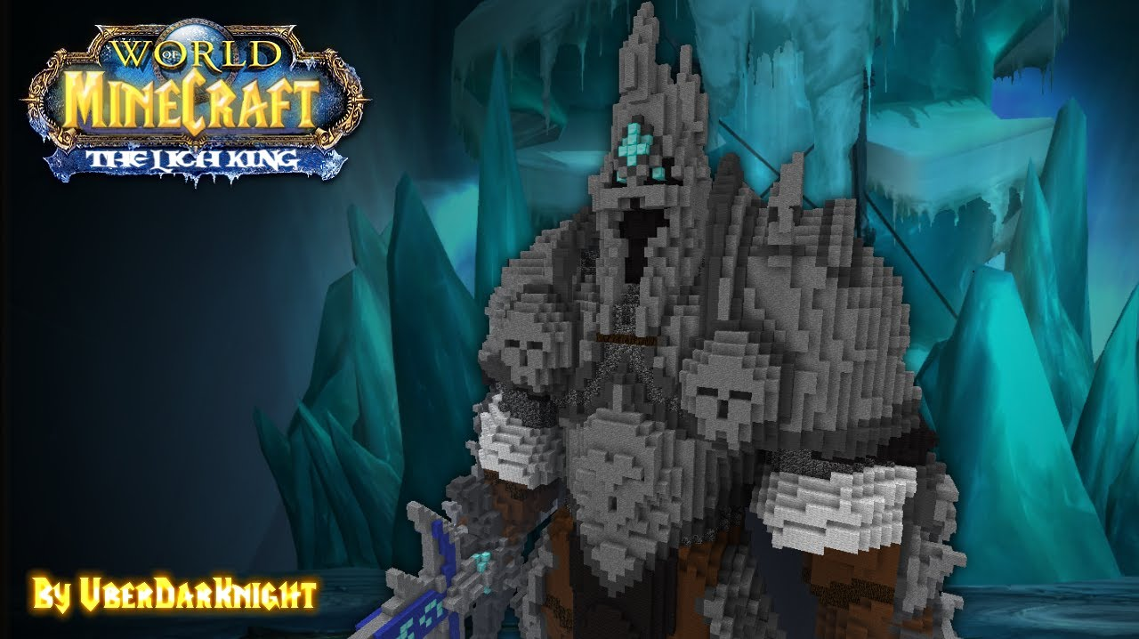 3d Lol Wallpaper Minecraft The Lich King 3d Youtube