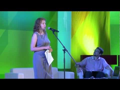 Educational power of art or what art can teach us? Mariya Tarasova at TEDxYauzaRiver