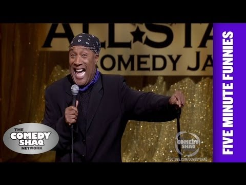 Paul Mooney⎢White People! Ghosts Are Not Real⎢Shaq's Five Minute Funnies⎢Comedy Shaq